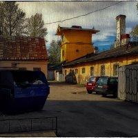 My magic Petersburg_03339_дворик на Подъездном переулке :: Станислав Лебединский