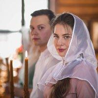 Портрет насти на Венчании :: Владимир Васильев