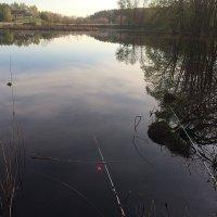 """Рыбалка  на """"Глухом  омуте"""" :: Виталий Селиванов"""