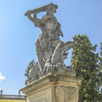 Скульптура у дворца Браницких :: bajguz igor