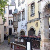 Дома XVIII века в Люксембурге :: Ольга Довженко