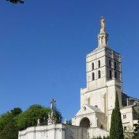 Кафедральный собор Нотр-Дам-де-Дом в Авиньоне :: Лидия Бусурина