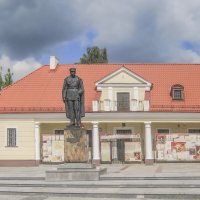 Białystok. Памятник Юзефу Пилсудскому :: bajguz igor
