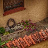 Бавария. Нёрдлинген. Вид с крепостной стены. :: Надежда Лаптева