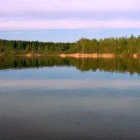 Вечернее озеро... :: Нэля Лысенко