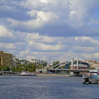 Москва и Москва-река. :: Наталья Цыганова