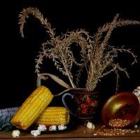 С кукурузой... :: Нэля Лысенко