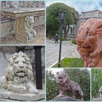 Львы у Юсуповского дворца. :: ИРЭН@ .