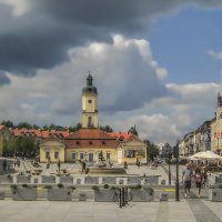 Białystok. Вид на ратушу :: bajguz igor