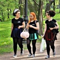 Весна в Екатерингофском парке... :: Евгений Яхим