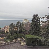 Вид на море с террасы Юсуповского дворца :: ИРЭН@ .