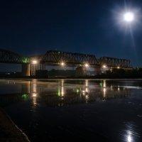 Серпухов . Ночь . Ока - ж/д мост . :: Va-Dim ...