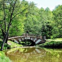 Мост на Ореховской плотине :: Анатолий Колосов
