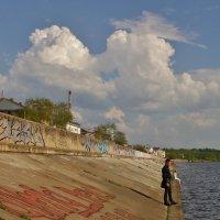Двое у реки :: Святец Вячеслав