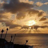 На восходе у океана :: Анастасия Богатова