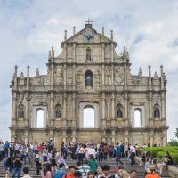 Руины собора Святого Павла, Макао. :: Edward J.Berelet