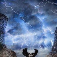 Ангел  смерти.явление  на  землю. :: Тамара Нижельская