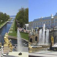 Большой каскад фонтанов Петергофа :: Tamara *