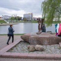 Мемориальный комплекс Остров слёз в Минске :: Виталий Немченко