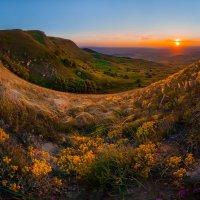 Весенняя степь на закате :: Фёдор. Лашков