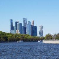 Виды Москвы с реки :: Маргарита Батырева