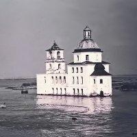Храм Рождества Христова в Крохино, 1975 год. :: Олег Попков