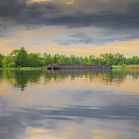 вечер на реке :: Алексей