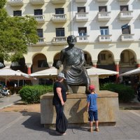 Памятник Аристотелю в Салоники. Греция 2016 :: peretz