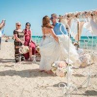 Организация церемонии на Жемчужном острове Хургада, Египет :: Светлана Айед
