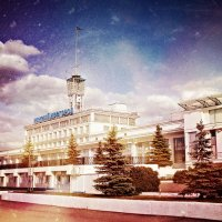 Нижегородский речной вокзал :: Андрей Головкин