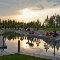"""Вечер в парке """"Краснодар"""" :: Андрей Майоров"""