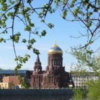 Богоявленская церковь на Гутуевском острове :: Наталья Герасимова