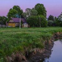 закат в деревни :: Георгий А
