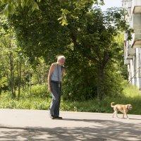 На прогулке с Петровичем... :: ТатьянА А...