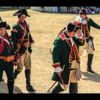 XVIII век. Военный парад, Германия :: Олег Зак