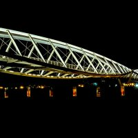 Беер Шева пешходный мостик :: Александр Липовецкий