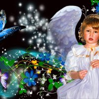 Ребёнок ангел :: Сергей