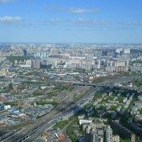 Виды Москвы со смотровой площадки Башни Федерация :: Маргарита Батырева