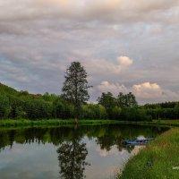 Рыбалка, вечер, закат :: Борис Соловьев