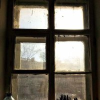 пыльное окно :: peretz