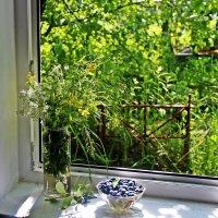 Окно в лето :: Лариса
