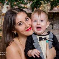 Мама и сына :: Виктория Кустова