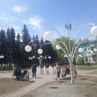 Пешеходный фонтан :: Олег Афанасьевич Сергеев