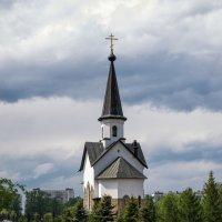 Церковь Святого Георгия Победоносца в Пулковском парке. Санкт-Петербург :: Елена Кириллова