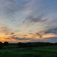 Июньским вечерком на краю деревни ... :: Евгений Хвальчев