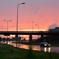 Городской закат :: Teresa Valaine