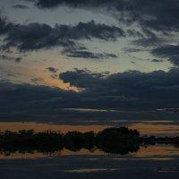 Небеса(заливы Тунгуски). :: Валерий Майоров