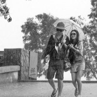 Под дождём :: Сергей
