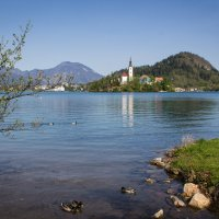 Озеро Блед. Словения. :: Надежда
