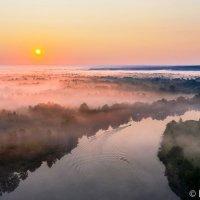 Над туманной Цной :: Сергей